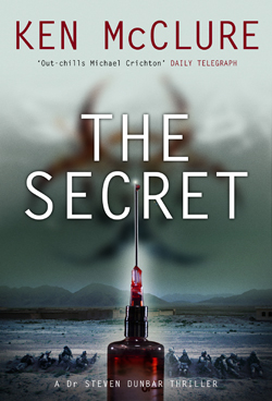 Ken McClure The Secret cover